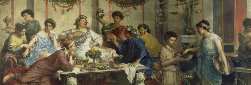 Roberto Bompiani, Roman feast