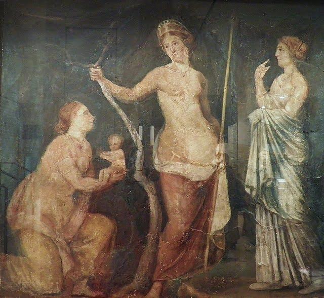 Zapewne rzymska bogini narodzin Lucina