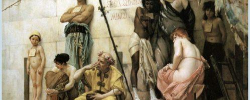 Targ niewolników, Gustaw Boulanger