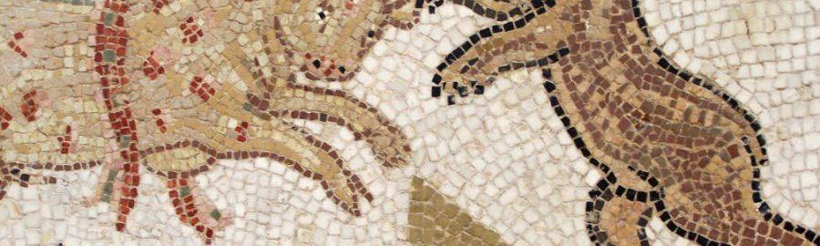 Byk na mozaice rzymskiej