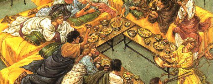 Rzymski obiad
