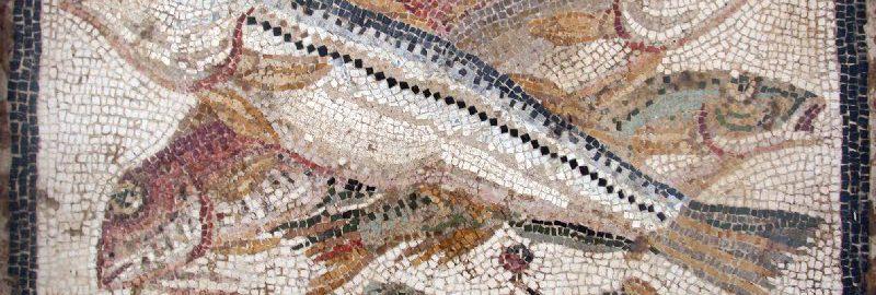 Ryby na mozaice rzymskiej