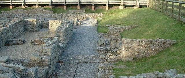 Odkrycia w forcie rzymskim
