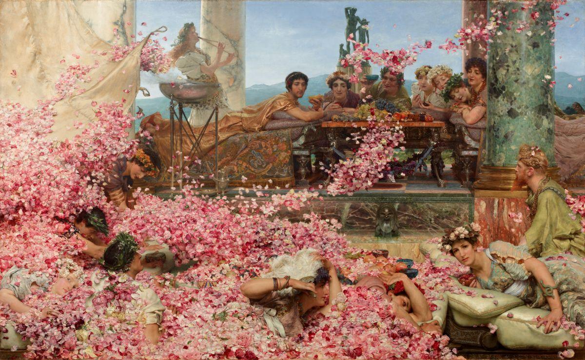 Róże Heliogabala, Lawrence Alma-Tadema