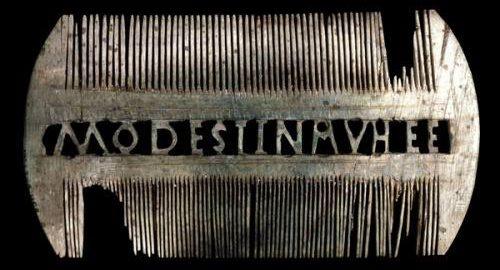 Ivory comb of Modestina