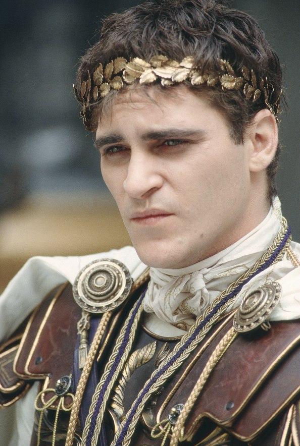 Joaquin Phoenix as Commodus