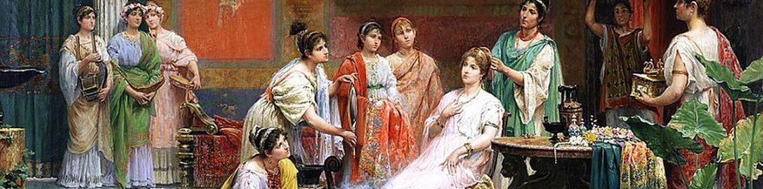 Juan Giménez Martín, Toaleta rzymskiej damy
