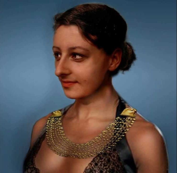 Reconstruction of image of Cleopatra VII