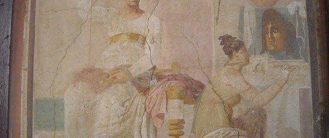 Malunek ścienny z Herkulanum