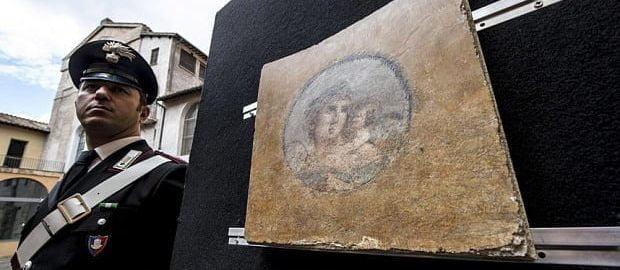 Odzyskano skradzione ponad 50 lat temu freski