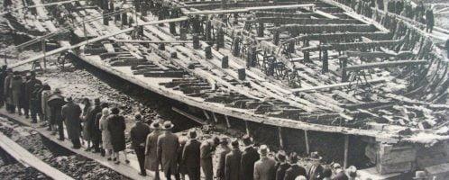 Statek Kaliguli z lat 30. XX wieku.