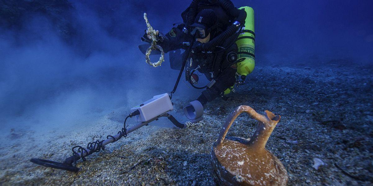 Titanic starożytnego świata skrywa skarby
