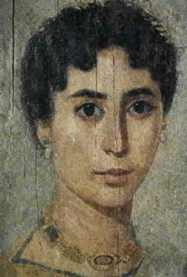 Portrait of a Fayumian woman