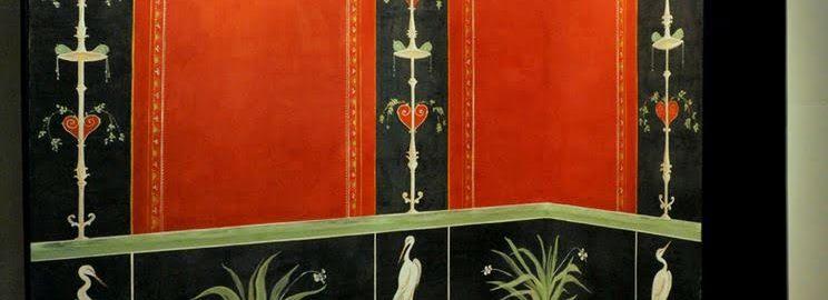 Rzymski współczesny fresk