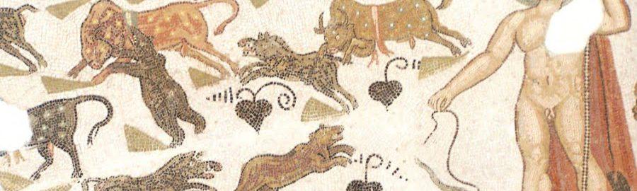 Zwierzęta na rzymskiej mozaice