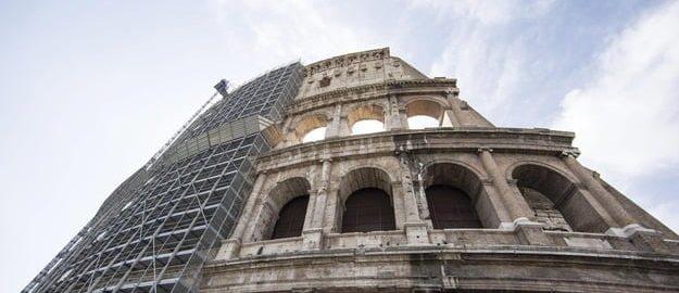 Arena w rzymskim Koloseum