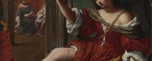 Elisabetta Sirani, Porcja raniąca sobie udo