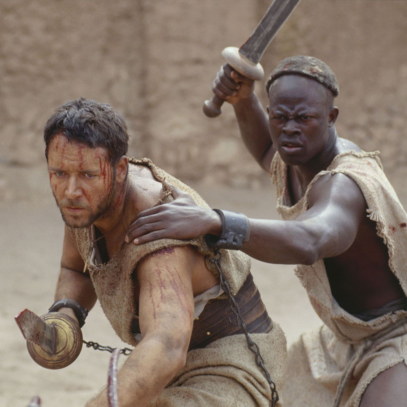 "Scene from the movie ""Gladiator"""
