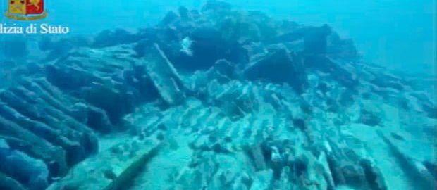 Odkryto statek rzymski