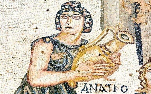 Roman women could not drink wine