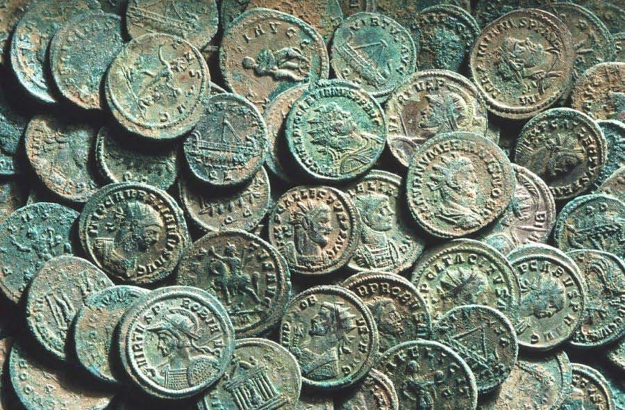 Romain coins