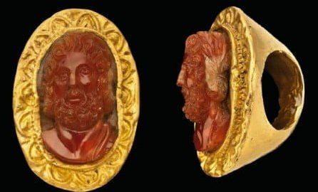 Golden Roman Ring