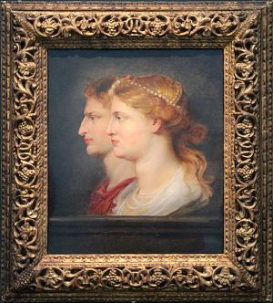 Germanik i Agryppina na obrazie Petera Paula Rubensa