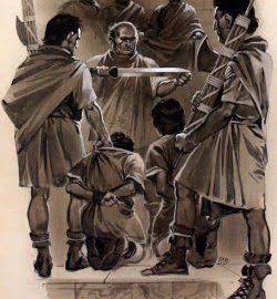 Lucius Junius Brutus and his two sons