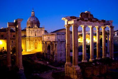 Niebezpieczny Rzym nocą