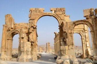 Łuk triumfalny w Palmyrze