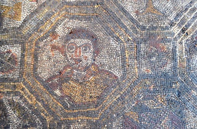 Mozaika w Toskanii