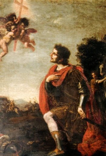 Vision of Constantine before the battle of the Milvian Bridge