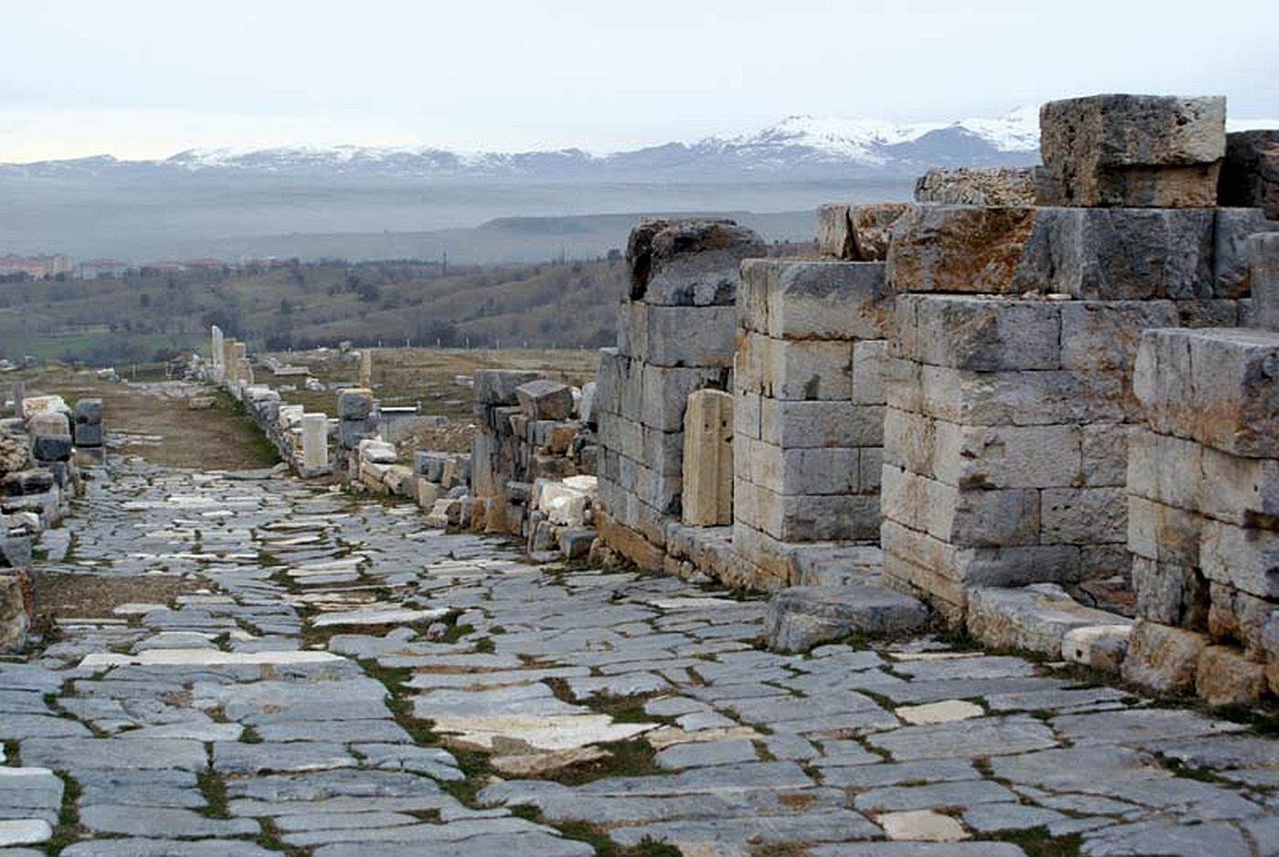 Ancient road in Antioch