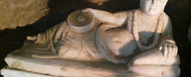 Odnaleziono etruski grób