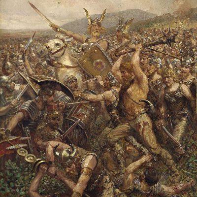 Otto Albert Koch, The battle of Varus