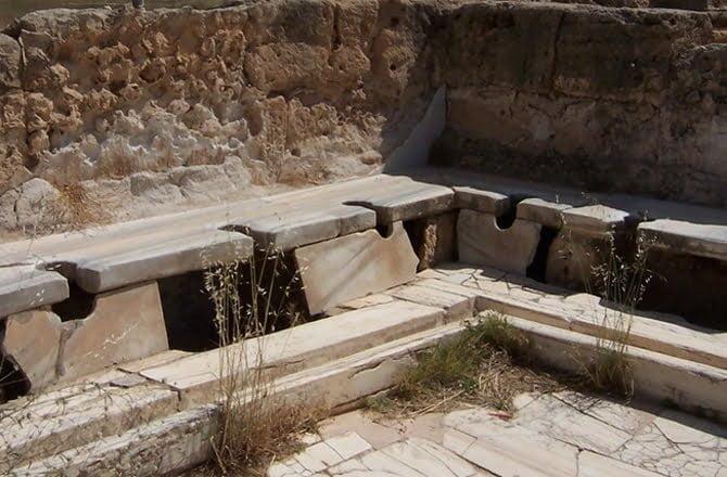 Rzymskie toalety przenosiły pasożyty
