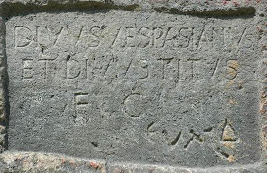 Inskrypcja z tunelu Tytusa