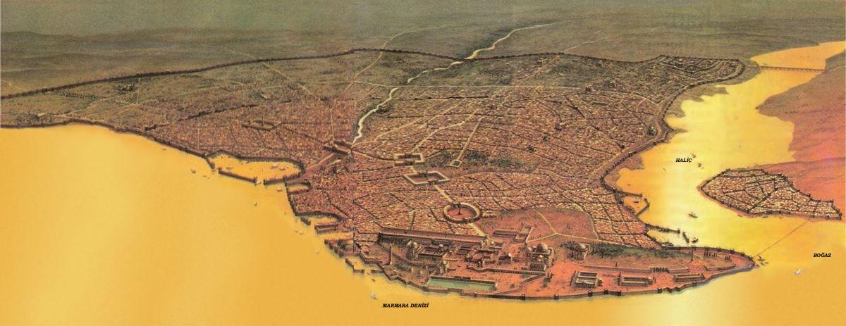Panorama Konstantynopola