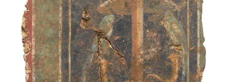 Rzymski fresk w Londynie