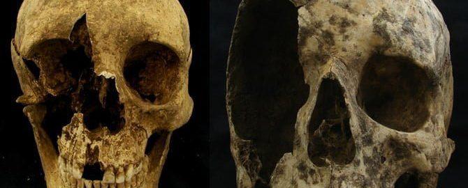Kość rzymskiego migranta