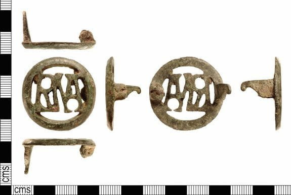 Roman brooch from 1800 years ago discovered