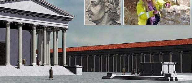 Pozostałości rzymskiej arkady