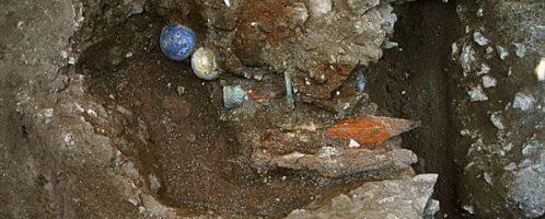 Odkryte rzymskie sztandary