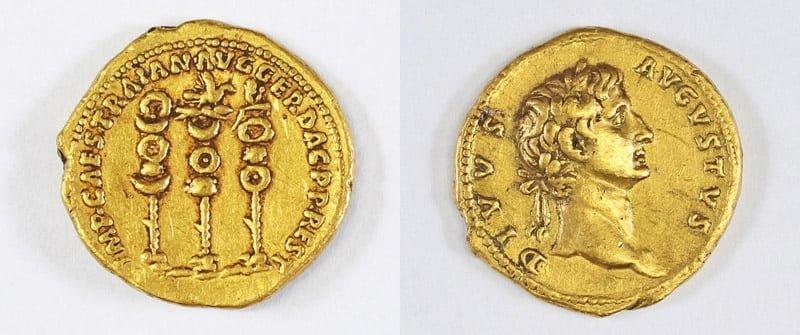 Izraelska złota moneta