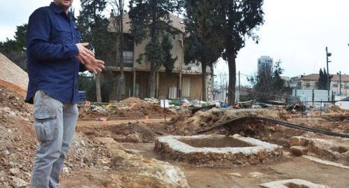 Winiarnia odnaleziona w Jerozolimie
