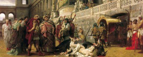 Dirce chrześcijańska, obraz Henryka Siemiradzkiego