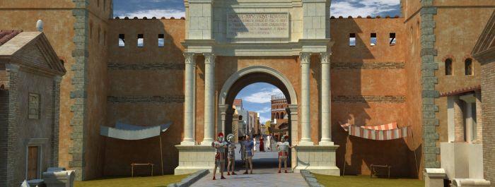 Rekonstrukcja Ostii w 3D