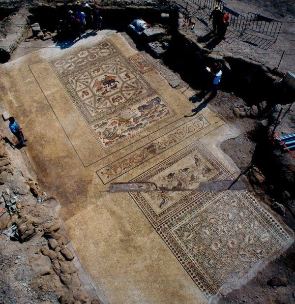 Rzymska mozaika w Izraelu