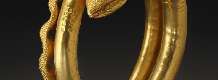 Golden Egyptian-Roman epaulette