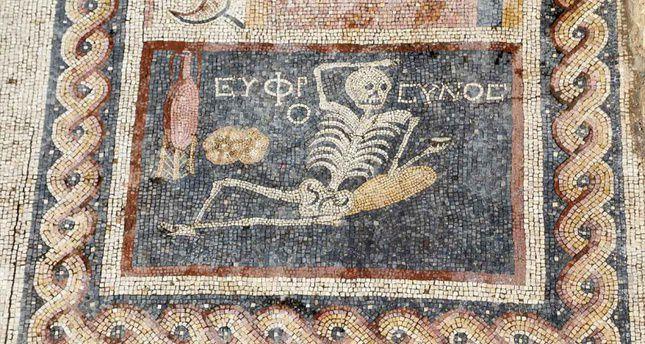 Odkryto liczącą 2400 lat mozaikę w Turcji